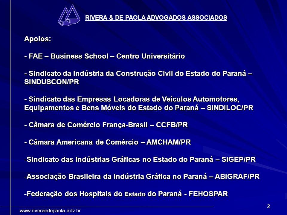 - FAE – Business School – Centro Universitário