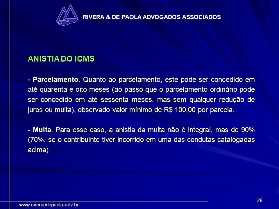 RIVERA & DE PAOLA ADVOGADOS ASSOCIADOS