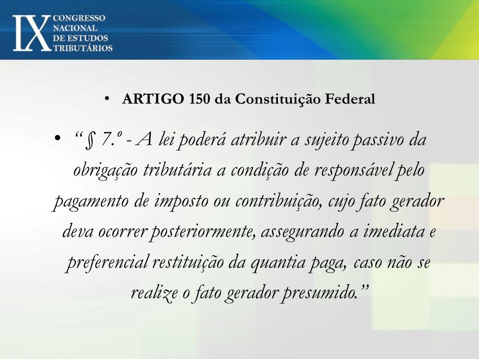 ARTIGO 150 da Constituição Federal