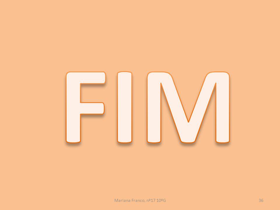 FIM Mariana Franco, nº17 10ºG
