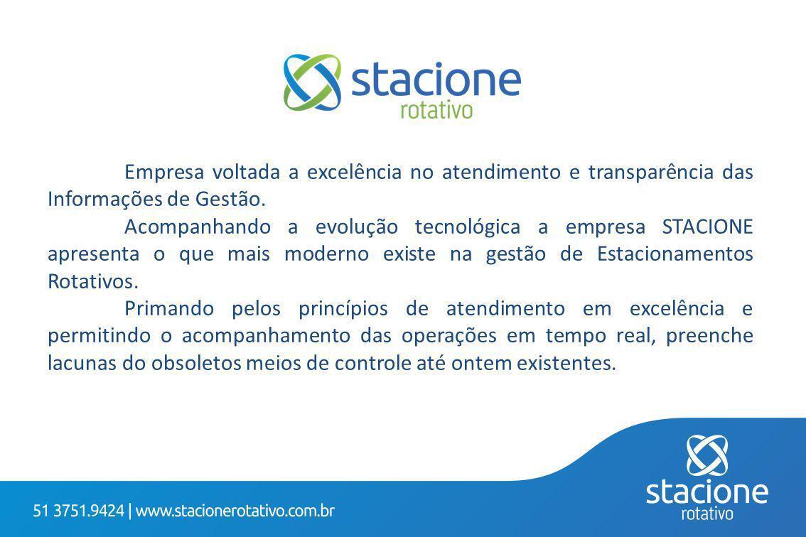 Empresa voltada a excelência no atendimento e transparência das Informações de Gestão.
