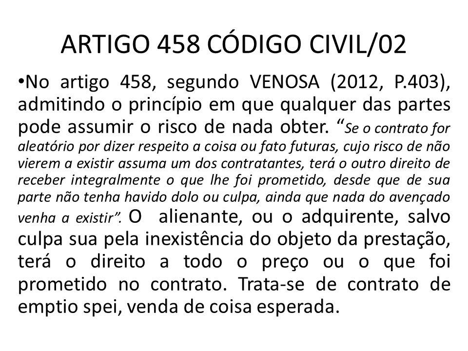 ARTIGO 458 CÓDIGO CIVIL/02