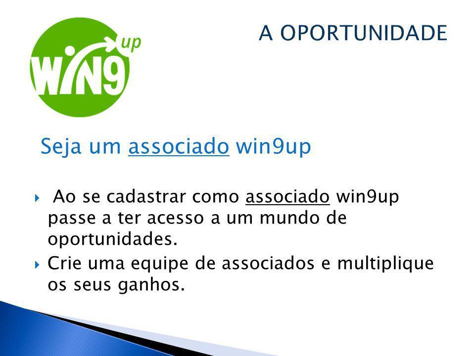 Seja um associado win9up