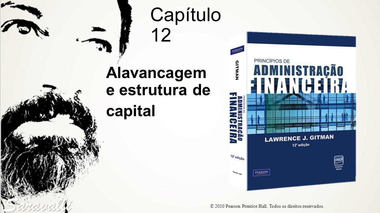 Alavancagem e estrutura de capital