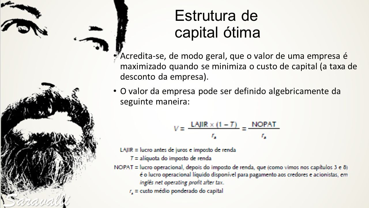 Estrutura de capital ótima