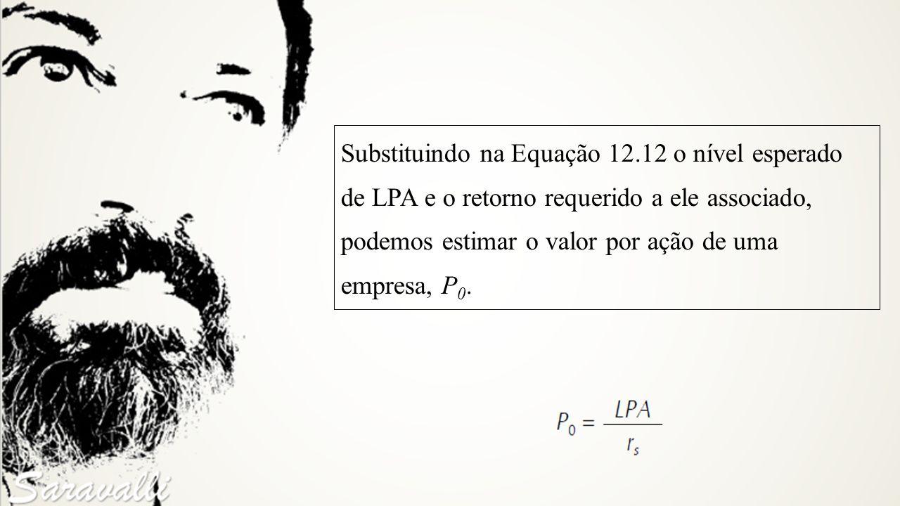 Substituindo na Equação 12