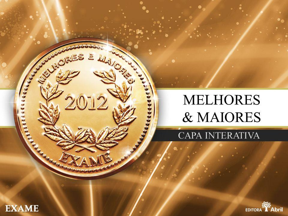 MELHORES & MAIORES CAPA INTERATIVA