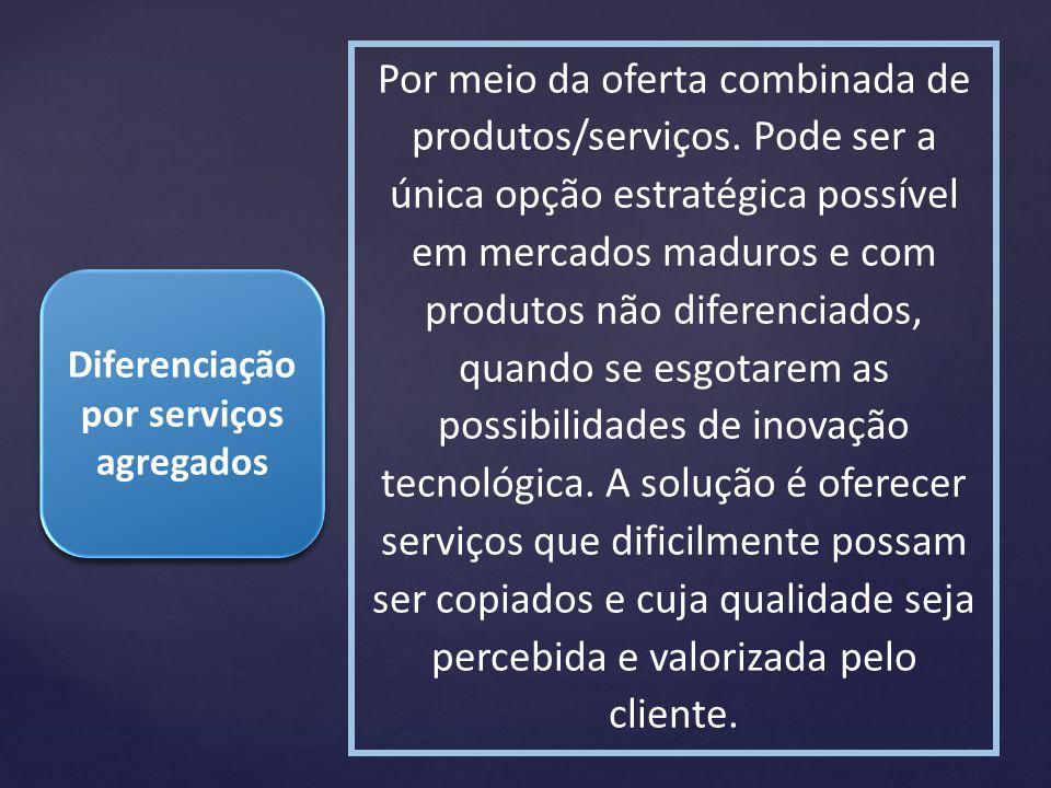 Diferenciação por serviços agregados