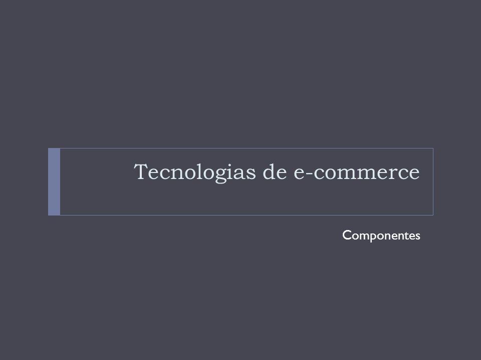 Tecnologias de e-commerce