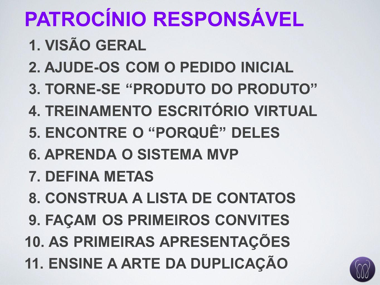 PATROCÍNIO RESPONSÁVEL