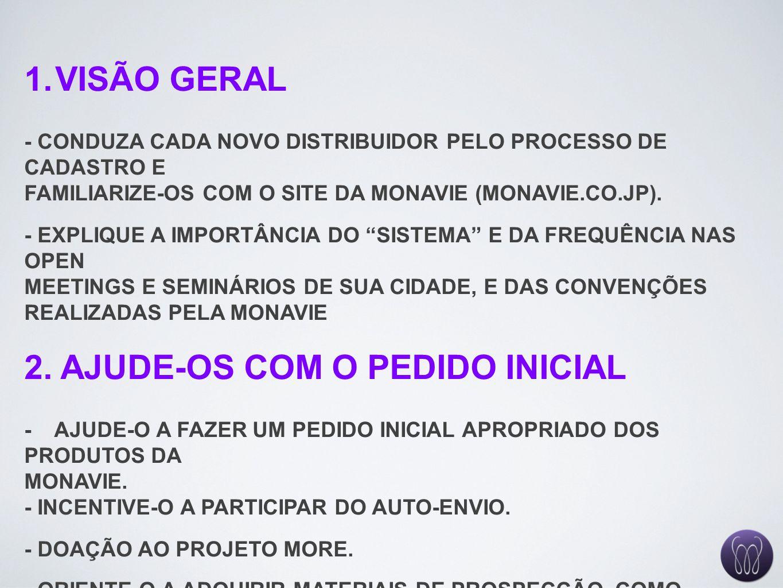 2. AJUDE-OS COM O PEDIDO INICIAL