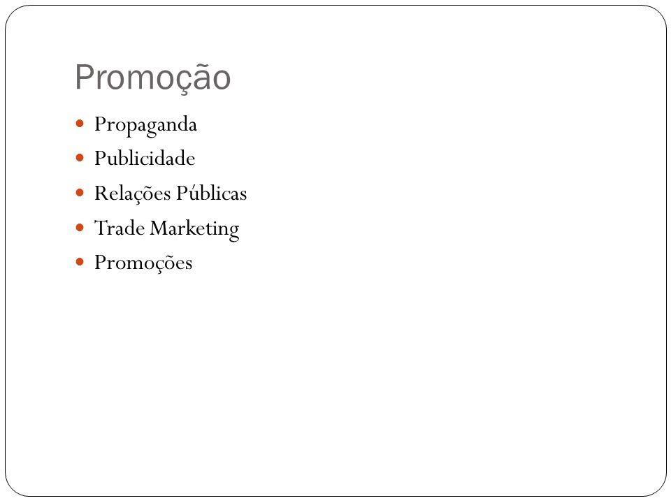 Promoção Propaganda Publicidade Relações Públicas Trade Marketing