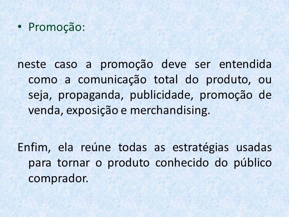 Promoção: