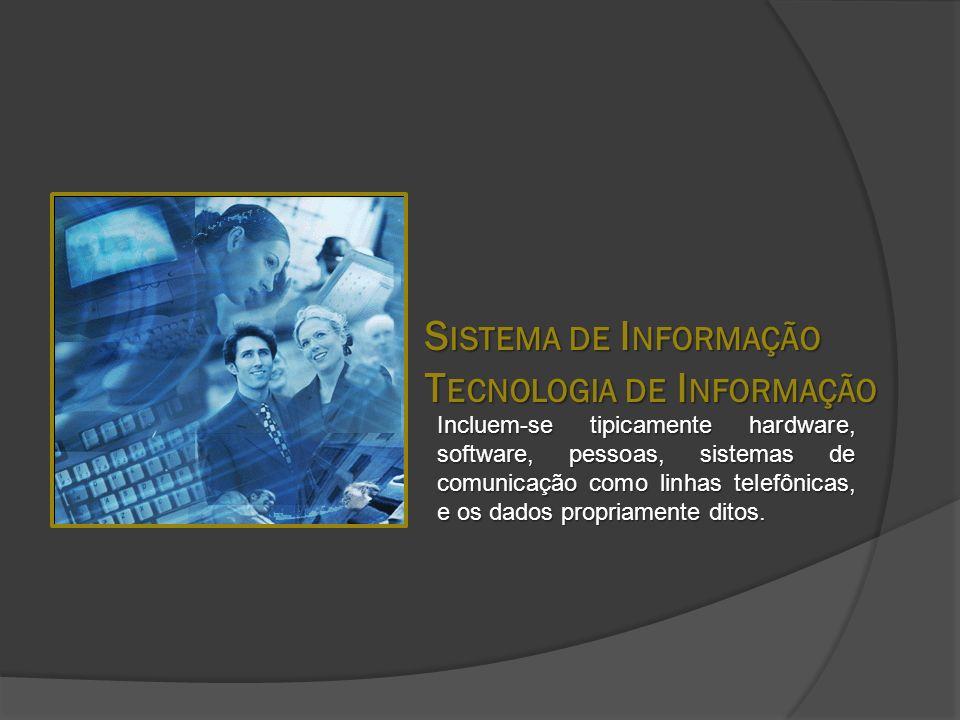 Sistema de Informação Tecnologia de Informação