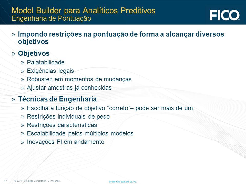 Model Builder para Analíticos Preditivos Engenharia de Pontuação