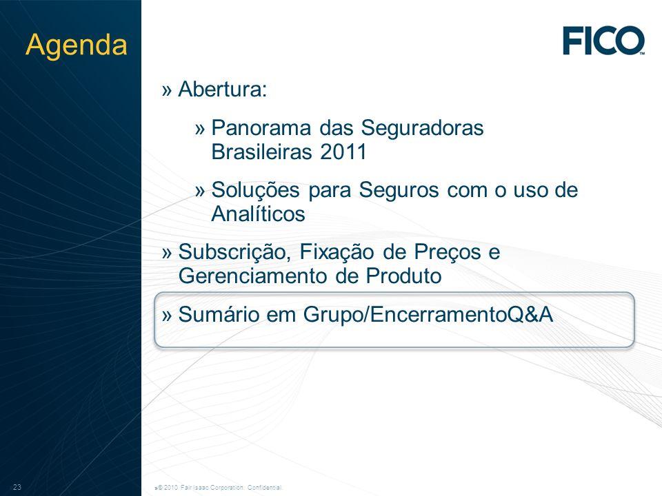Agenda Abertura: Panorama das Seguradoras Brasileiras 2011