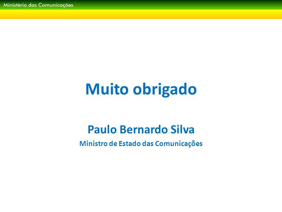 Paulo Bernardo Silva Ministro de Estado das Comunicações