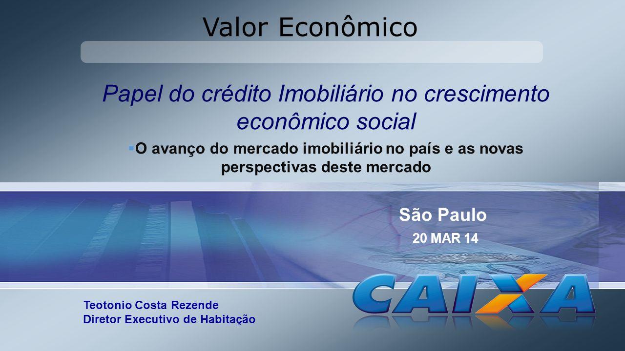 Papel do crédito Imobiliário no crescimento econômico social