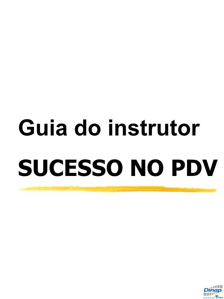 Guia do instrutor SUCESSO NO PDV