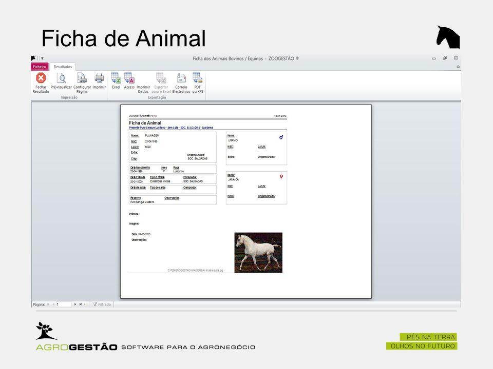 Ficha de Animal