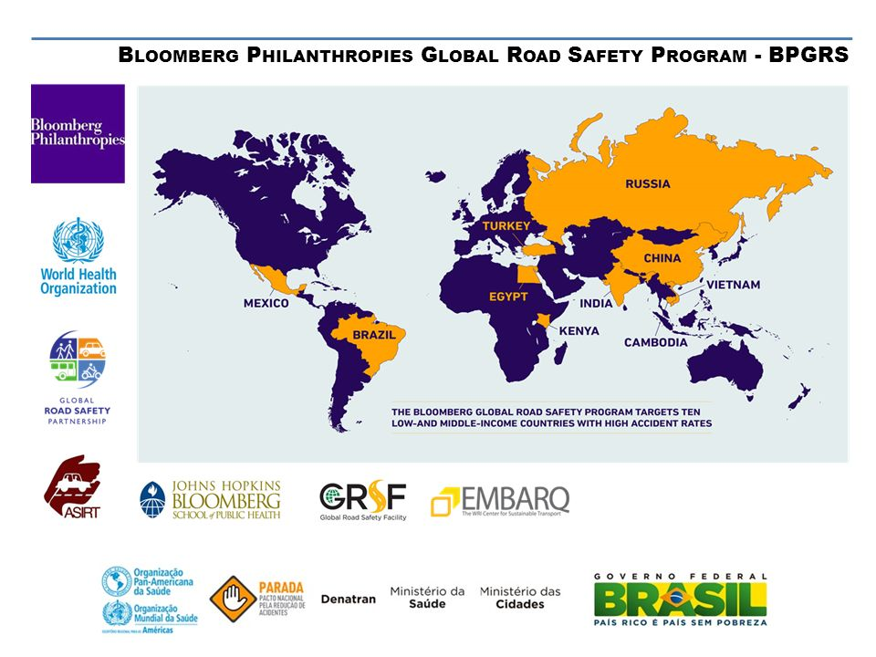 Bloomberg Philanthropies Global Road Safety Program - BPGRS