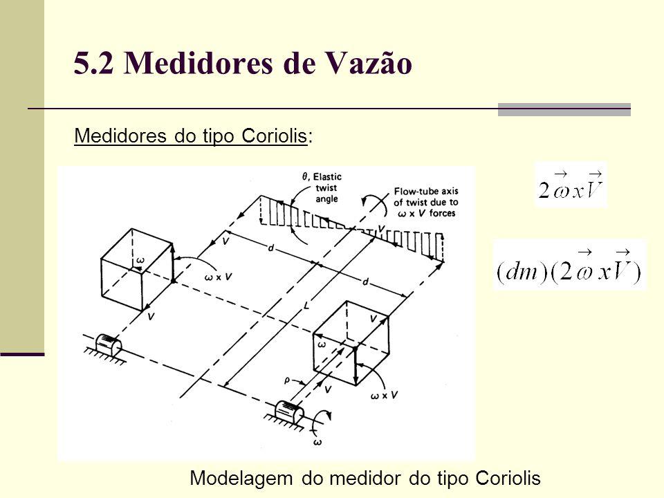 Modelagem do medidor do tipo Coriolis