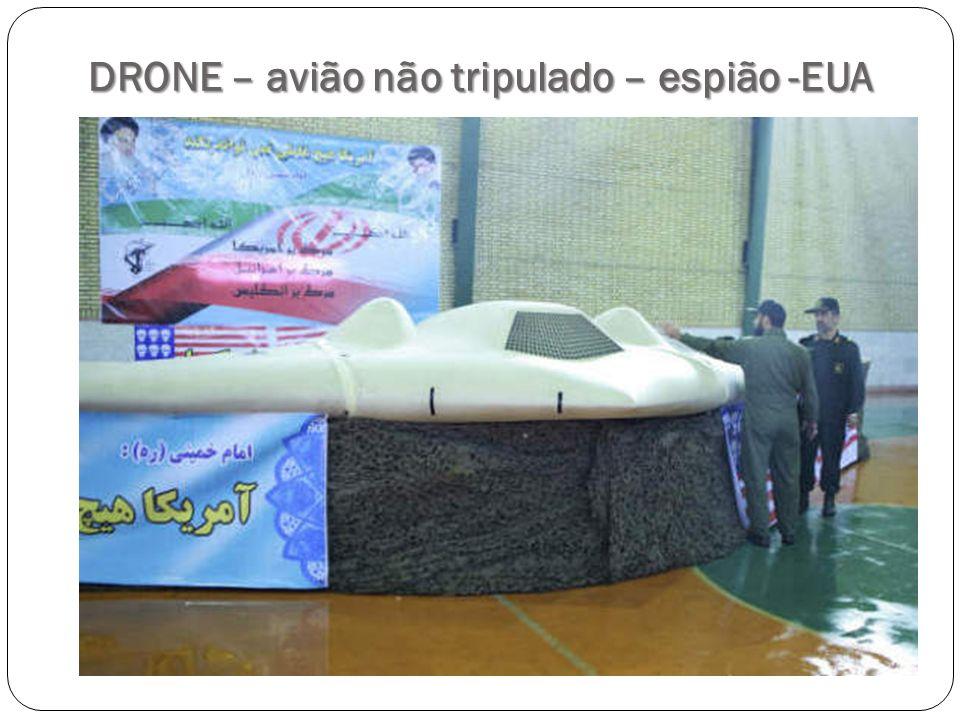 DRONE – avião não tripulado – espião -EUA