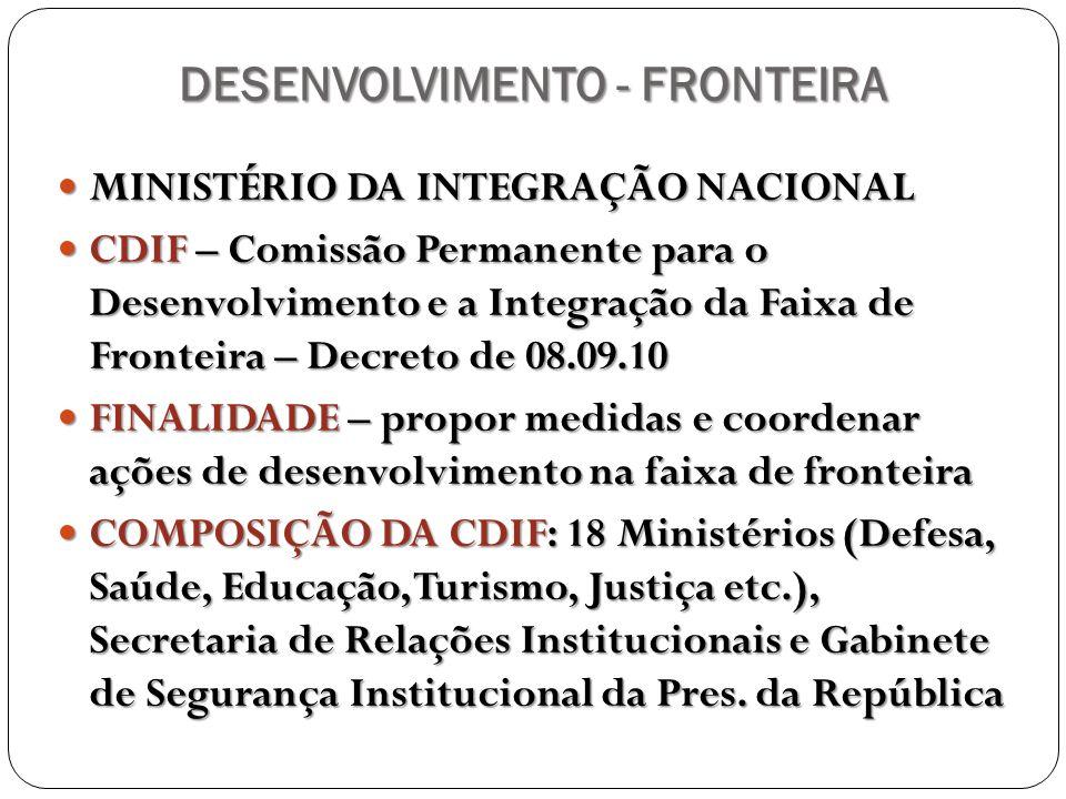 DESENVOLVIMENTO - FRONTEIRA