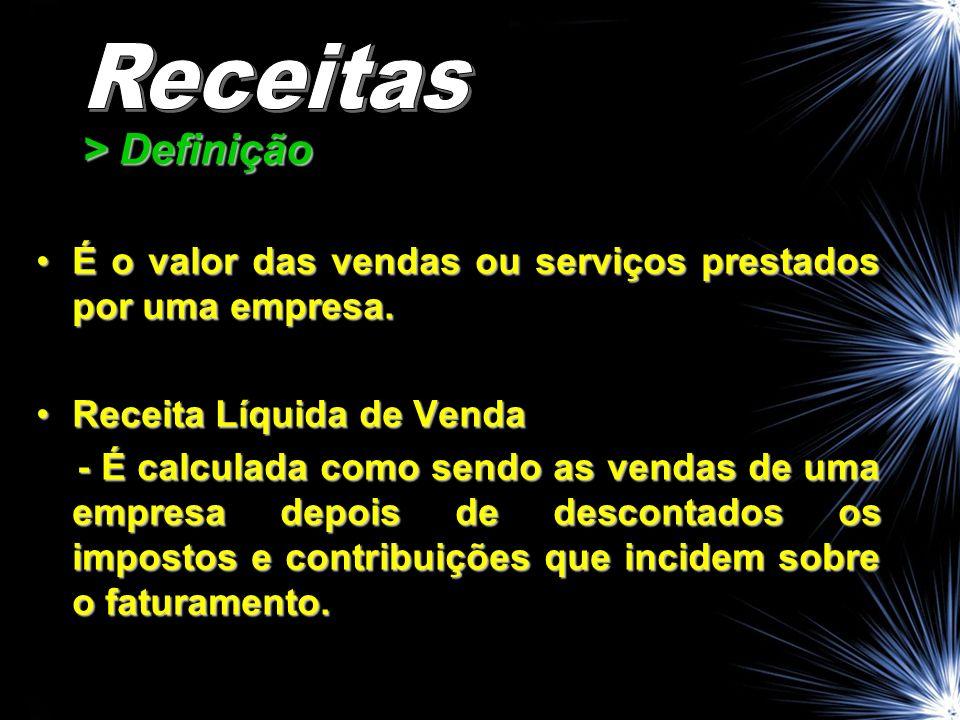 Receitas > Definição