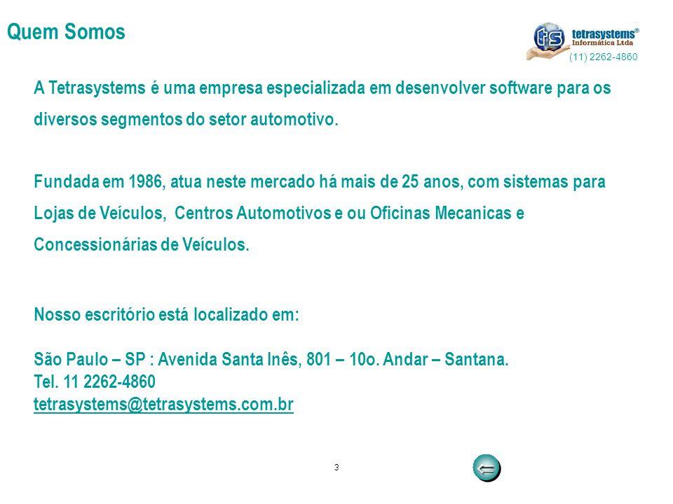 Quem Somos (11) 2262-4860. A Tetrasystems é uma empresa especializada em desenvolver software para os.