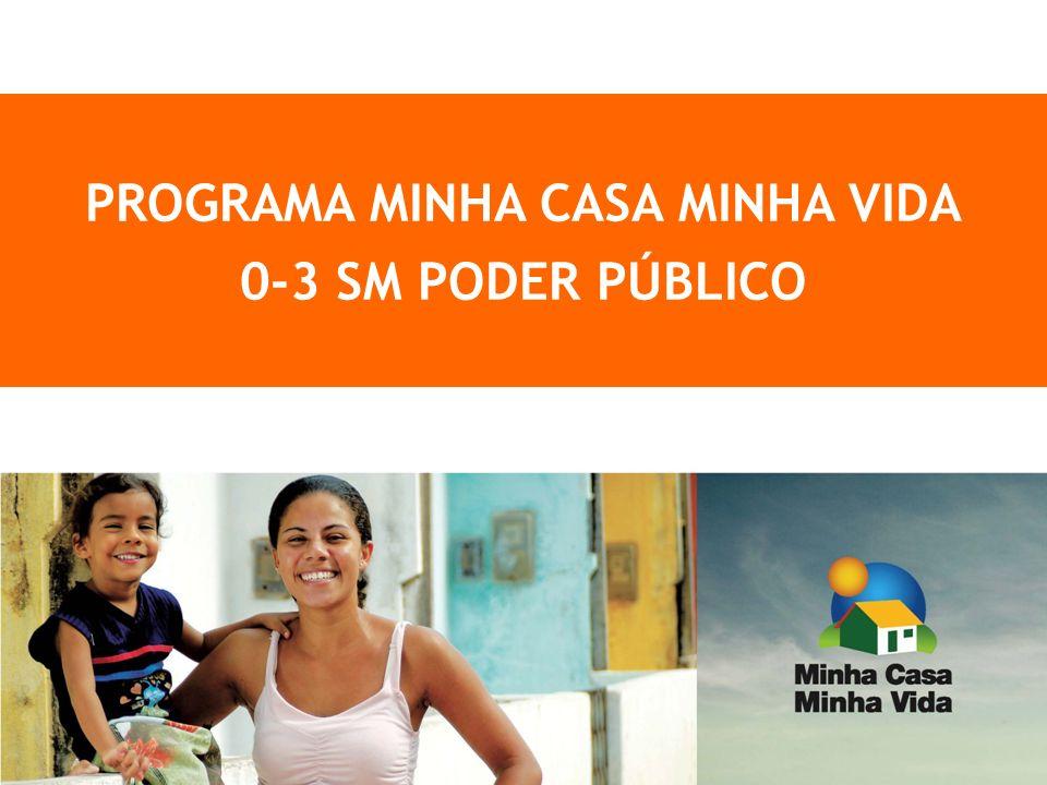 PROGRAMA MINHA CASA MINHA VIDA 0-3 SM PODER PÚBLICO