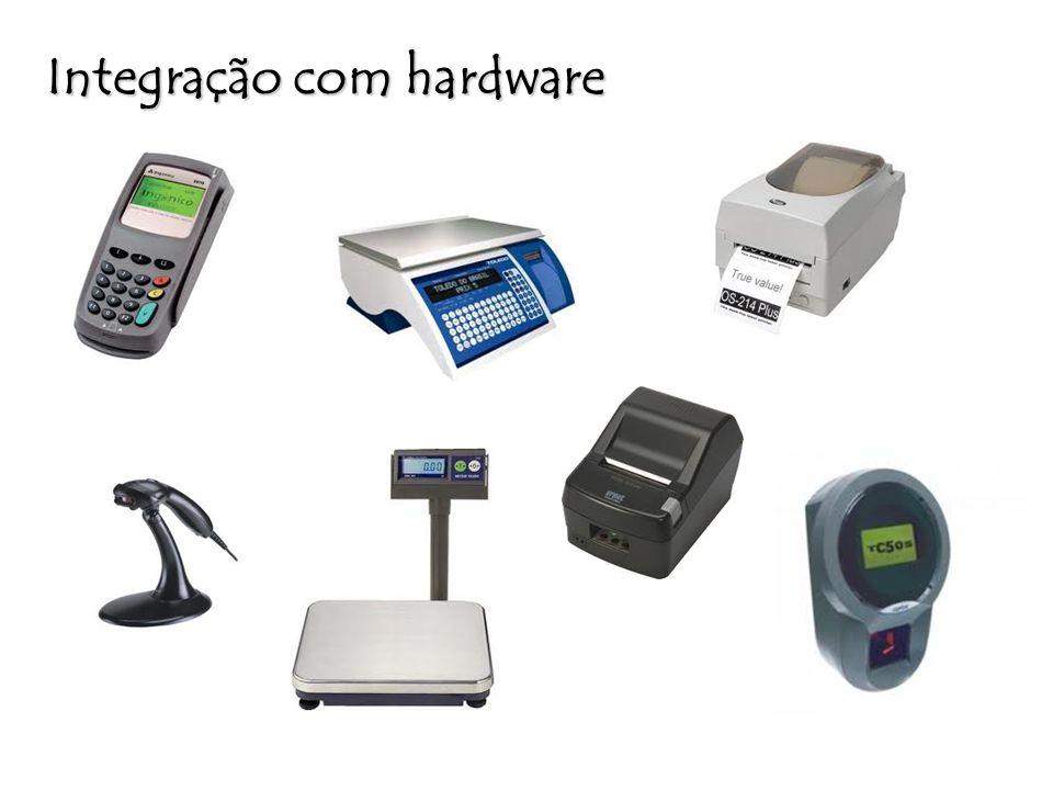 Integração com hardware