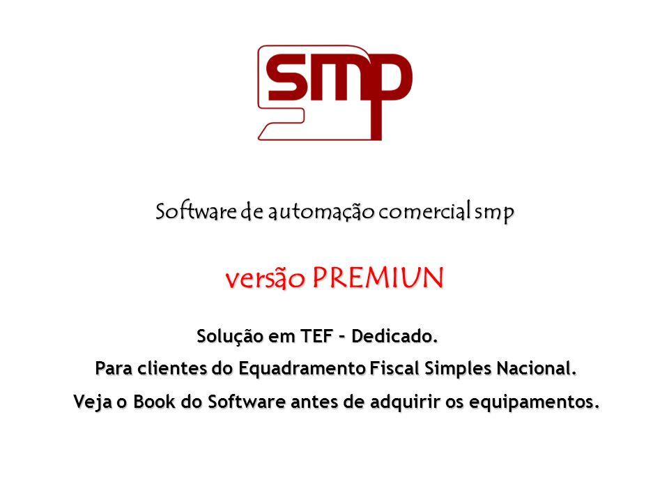 versão PREMIUN Software de automação comercial smp