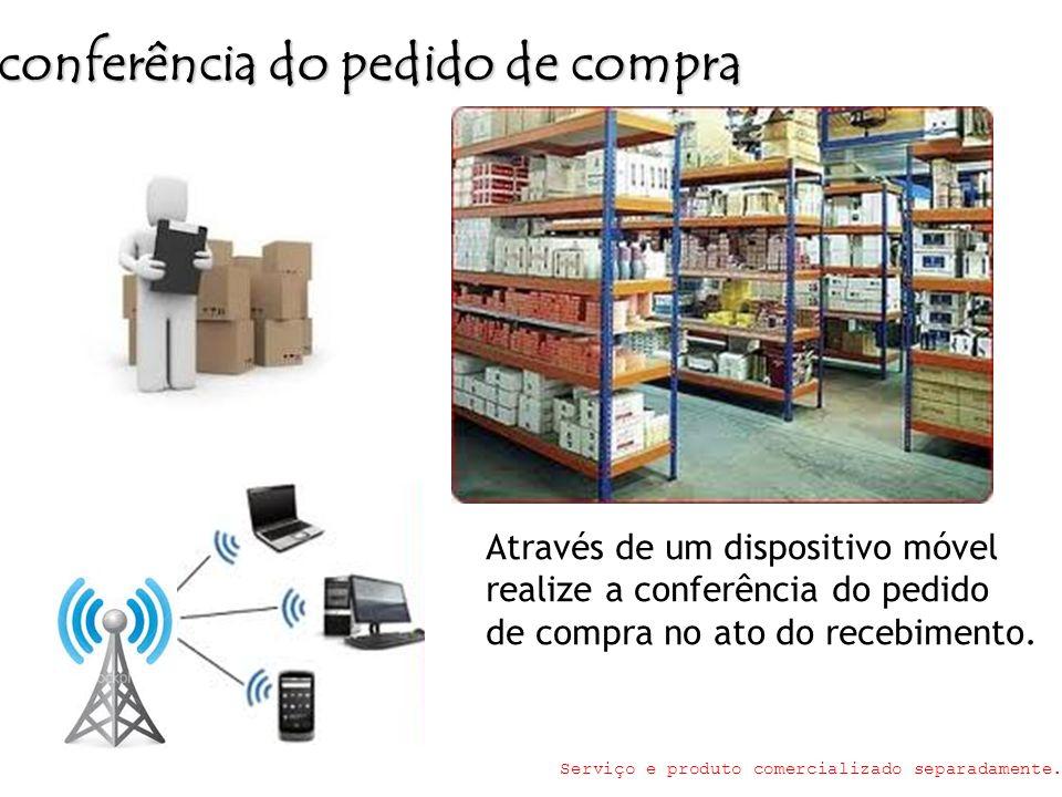 conferência do pedido de compra