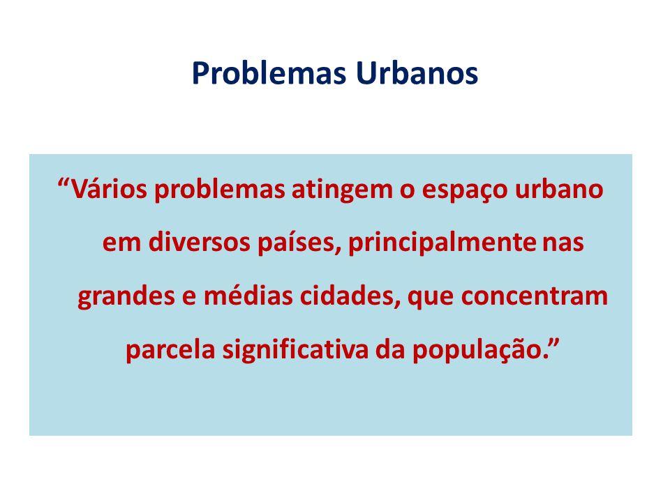 Problemas Urbanos