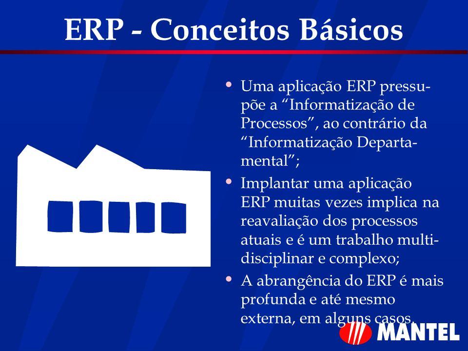 ERP - Conceitos Básicos