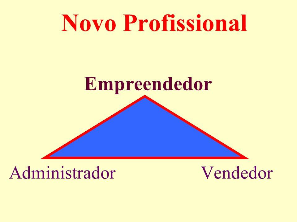 Novo Profissional Empreendedor Administrador Vendedor