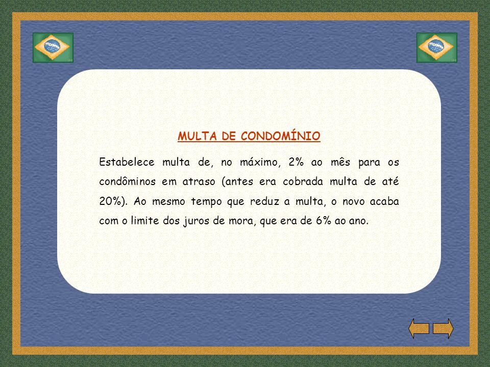MULTA DE CONDOMÍNIO