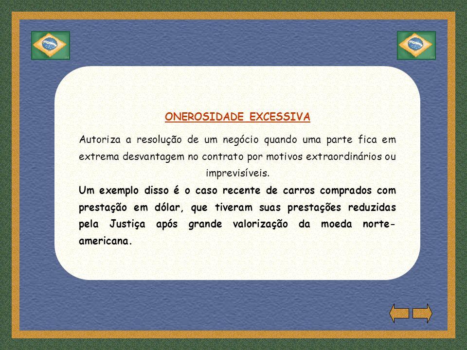 ONEROSIDADE EXCESSIVA