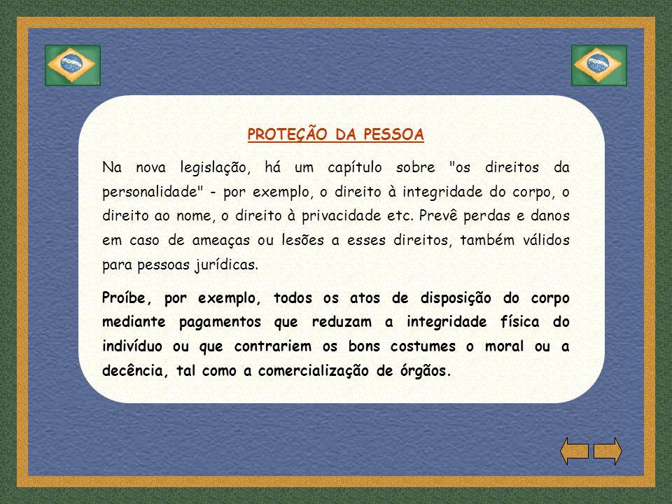 PROTEÇÃO DA PESSOA