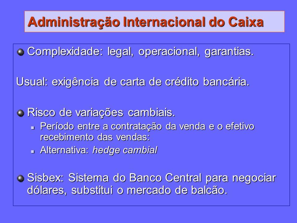 Administração Internacional do Caixa