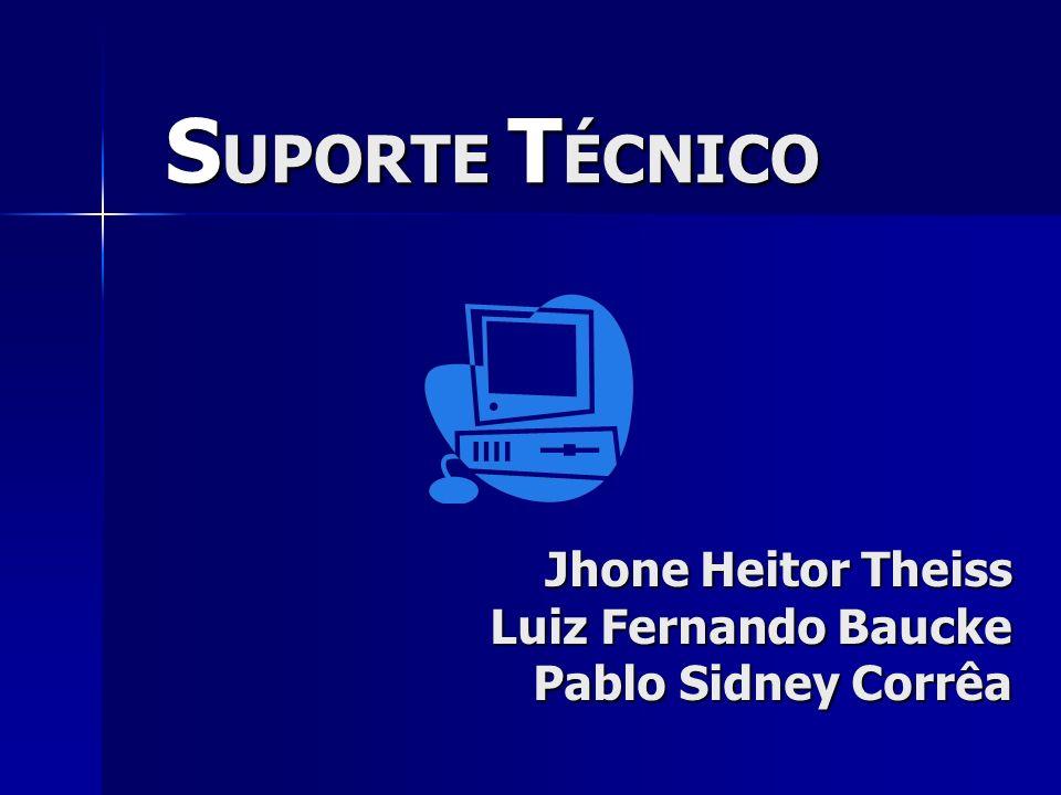 Jhone Heitor Theiss Luiz Fernando Baucke Pablo Sidney Corrêa