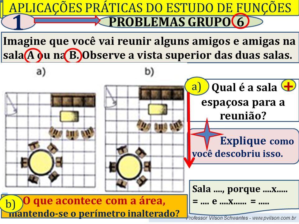 1 + APLICAÇÕES PRÁTICAS DO ESTUDO DE FUNÇÕES PROBLEMAS GRUPO 6