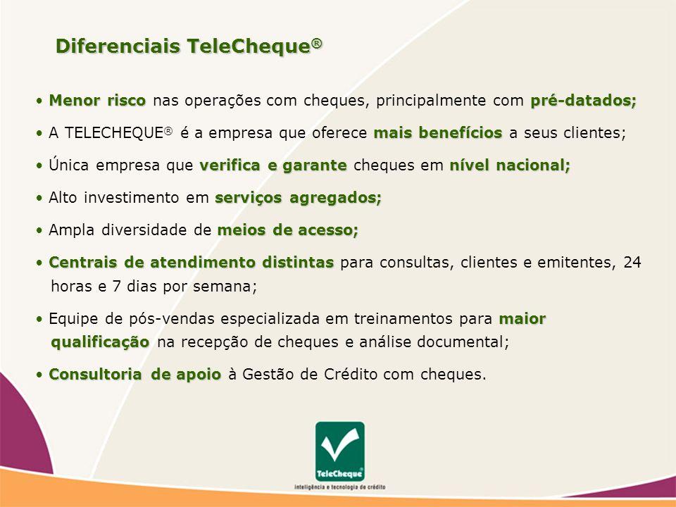Diferenciais TeleCheque®