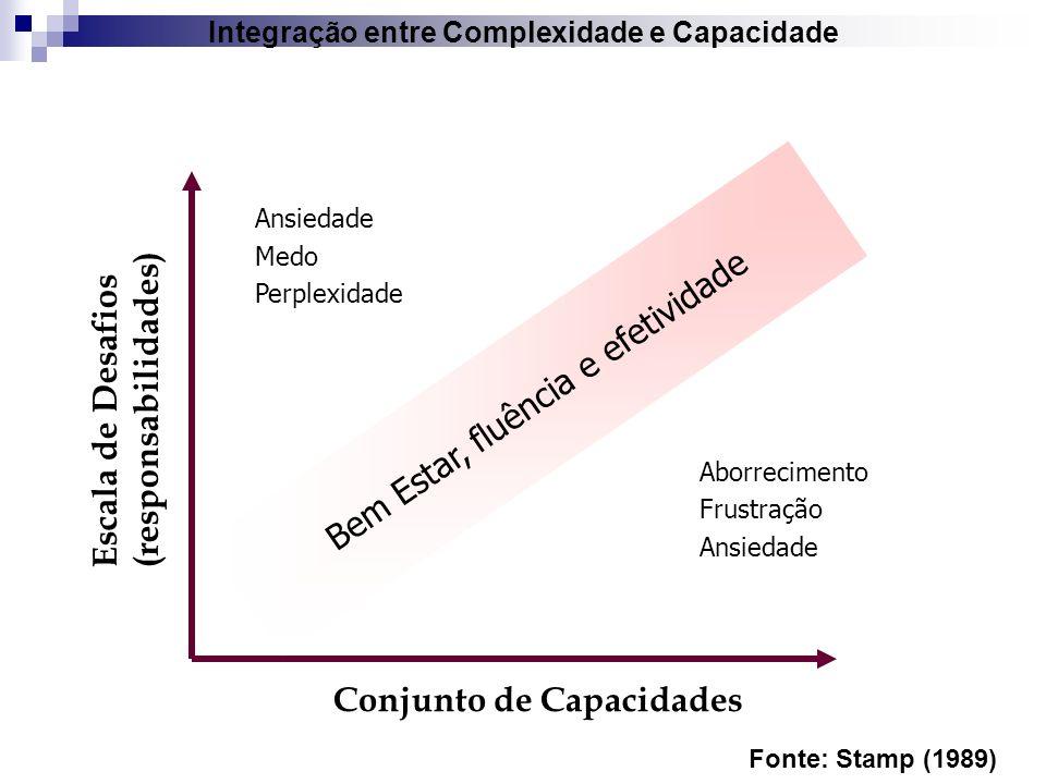 Integração entre Complexidade e Capacidade