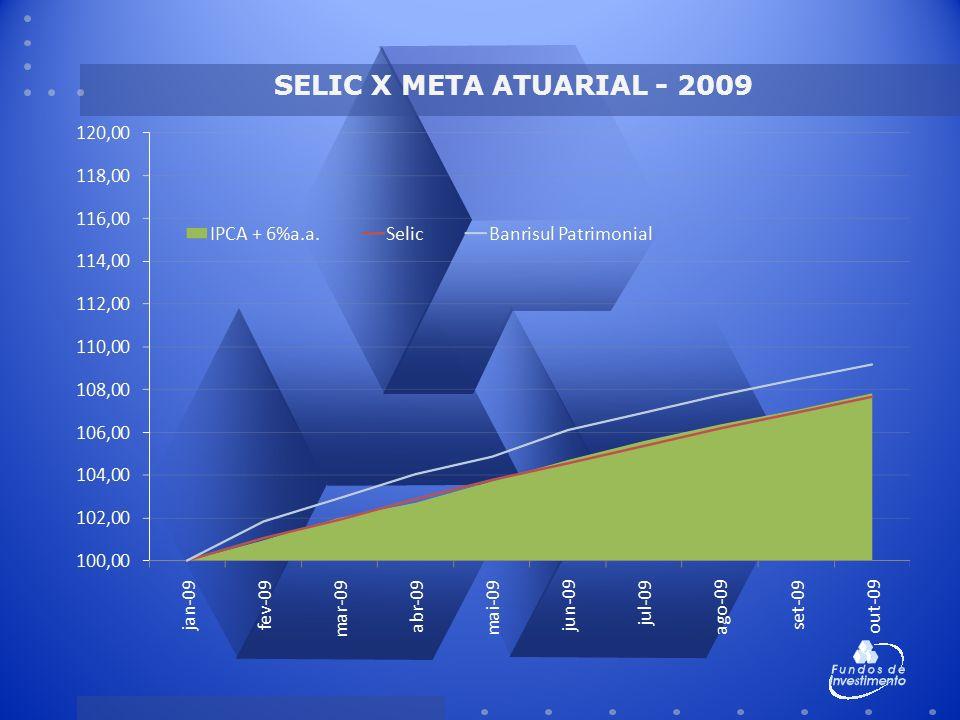 SELIC X META ATUARIAL - 2009