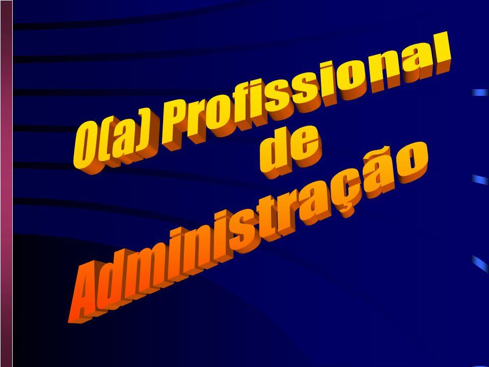 O(a) Profissional de Administração