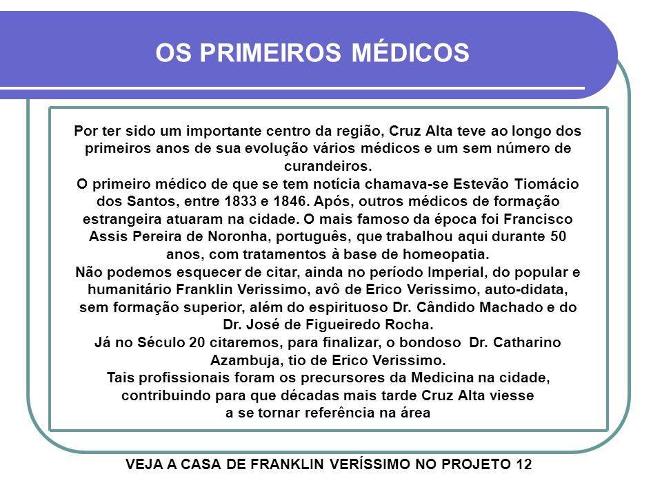 VEJA A CASA DE FRANKLIN VERÍSSIMO NO PROJETO 12