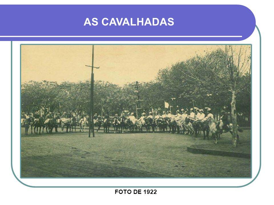 AS CAVALHADAS FOTO DE 1922