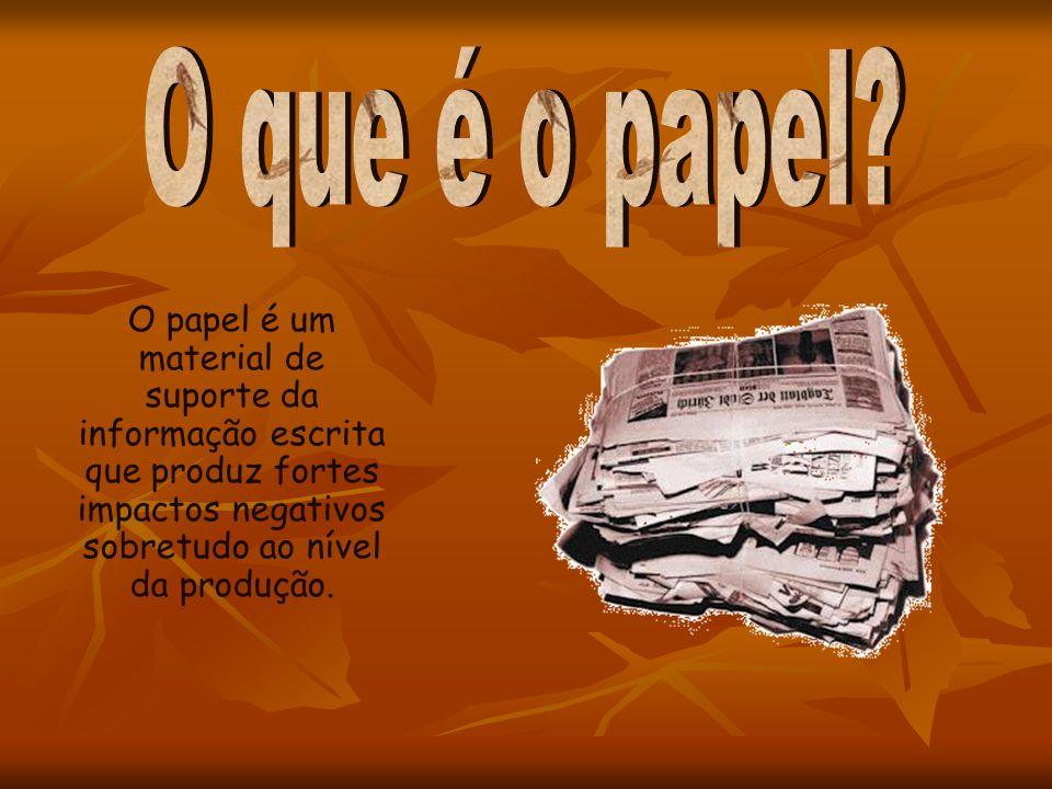 O que é o papel.